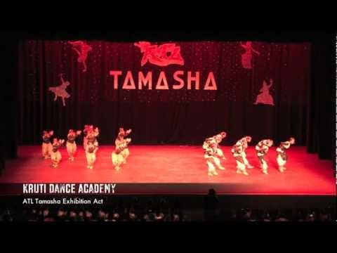 "Kruti Dance Academy performs ""Kruti Safari"" @ ATL Tamasha 2012!"