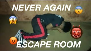 SCARIEST ESCAPE ROOM EVER!! *ALMOST DIED* MUST WATCH!!