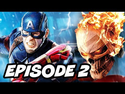 Agents Of SHIELD Season 4 Episode 2 - Ghost Rider TOP 10 WTF and Marvel Easter Eggs