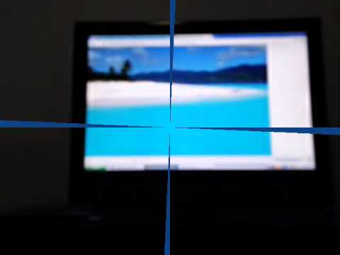 Video of Screen Capture Blue