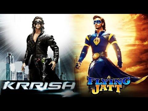 The Flying Jatt V/s Krrish | Tiger Shroff Copies Hrithik Roshan