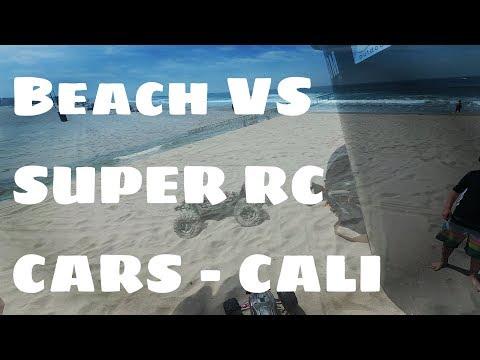 Krayton and outcast blast in the beach sand
