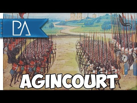 Battle of Agincourt (1415AD) - Mount and Blade: Warband Gameplay (видео)