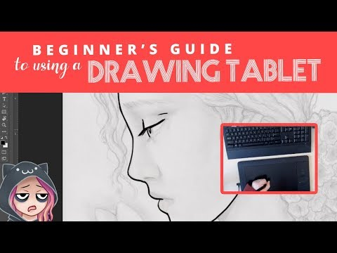 How To Use A DRAWING TABLET - Guide For Beginners