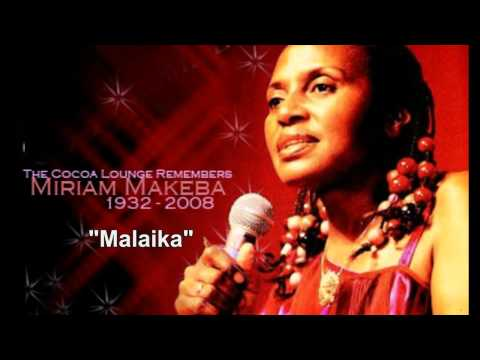 ", title : 'MIRIAM MAKEBA - ""Malaika"" - Original 1974 single with Swahili and English Lyrics.'"