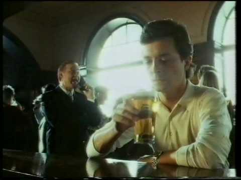 Heineken lager 'yuppy on phone' advert 1980s