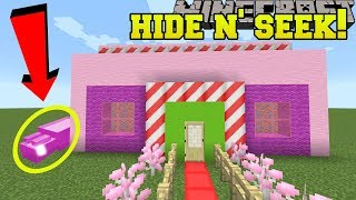 Minecraft: GUMMY MOUSE HIDE AND SEEK!! - Morph Hide And Seek - Modded Mini-Game