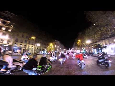 Halloween 2014 Paris Moto