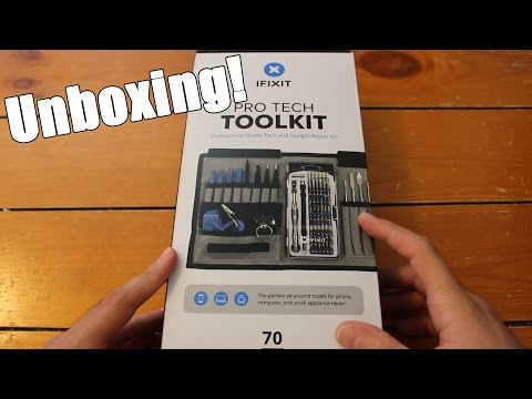 , title : 'iFixit Pro Tech Toolkit Unboxing!'