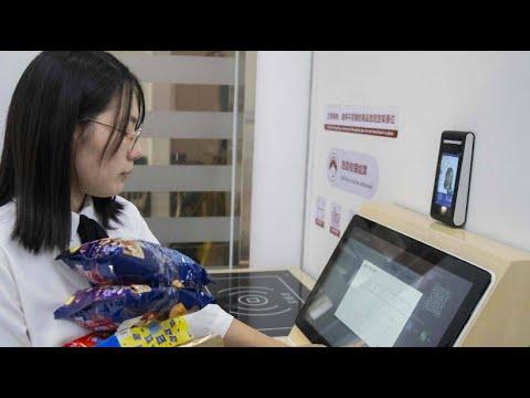 Chinesische Supermärkte führen Zahlung per Gesichtserk ...