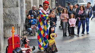 Video Top 10 Amazing Street Puppet Performers (2018) MP3, 3GP, MP4, WEBM, AVI, FLV Agustus 2018