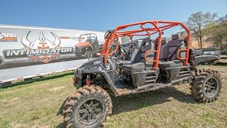4. Intimidator 4X4 Utility Vehicles - 1000 Diesel EFI - 750 gas EFI - Electric