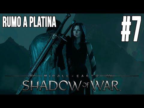 Shadow of War - Rumo a Platina #7 (Terra de Ninguém e Chuva de Flechas)