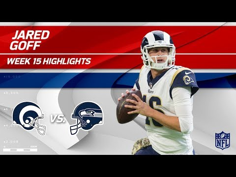 Video: Jared Goff Highlights | Rams vs. Seahawks | NFL Wk 15 Player Highlights