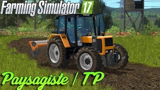 Video Farming Simulator 17 | Un peu de Paysagiste/ TP | Un rouleau a faire des routes ! MP3, 3GP, MP4, WEBM, AVI, FLV Oktober 2017