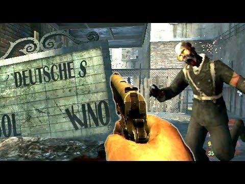 KINO DER TOTEN DE-MASTERED! (Wii Version) Call of Duty Black Ops Zombies Gameplay