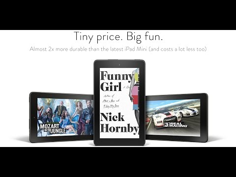Fire, 7 Display, Wi Fi, 8 GB, Includes Special Offers, Black Review