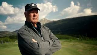 Golf Channel's Rich Lerner interviews Tom Weiskopf at Yellowstone Club