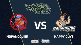 NoPangolier vs Happy Guys, Game 1, Group Stage, I Can't Believe It's Not Summit