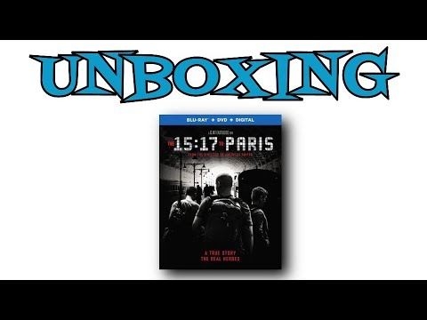 The 15:17 To Paris Blu-Ray Unboxing