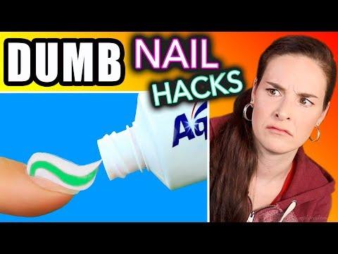 Testing DUMB Nail Hacks (SimplyNailogical torture)