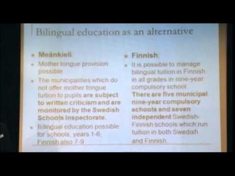 Jarmo Lainio Utmaningar för Sverige i uppföljningen och utvecklingen av Europarådets minoritetsspråksstadga