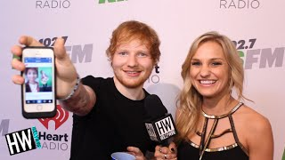 Ed Sheeran Talks Victoria's Secret Models & Reacts To My 'Ed Sheeran' Costume!