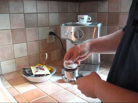 How to use an ESE Espresso Coffee Pod