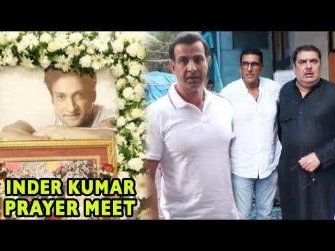 Full Video: Bollywood Celebs Attend Inder Kumar's Prayer Meet