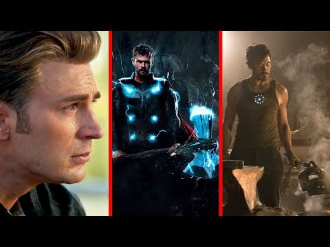 TONY STARK ŻYJE?! Avengers Endgame Trailer 2 Superbowl Analiza
