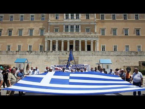 Μαζική πορεία κατά του πολυνομοσχεδίου στην Αθήνα