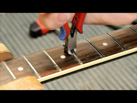 How to refret a Guitar