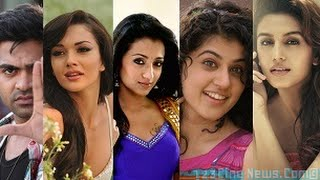 Four Glam Girls vie for Simbu! | 123 Cine news | Tamil Cinema News
