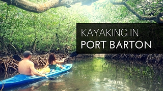 Kayaking in Port Barton