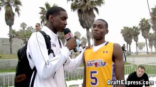 Quincy Miller & Deuce Bello - DraftExpress - 2010 Boost Mobile Elite 24