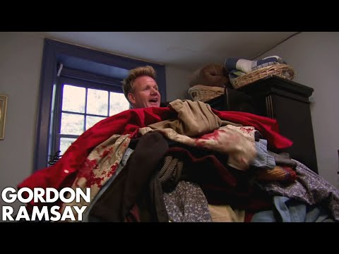 Gordon's Room Is FILLED With Owners Clothes | Hotel Hell