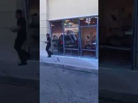 Enraged T-Mobile Customer Drives Through Store During Meltdown