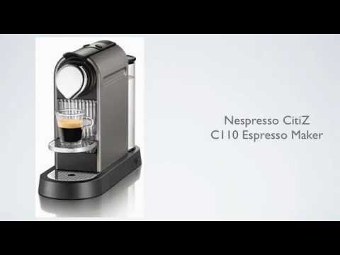 Nespresso CitiZ C110 Espresso Maker