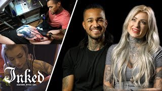 Video 25 Tattoo Artists Reveal How They Got Their Start | INKED Talk MP3, 3GP, MP4, WEBM, AVI, FLV Agustus 2018