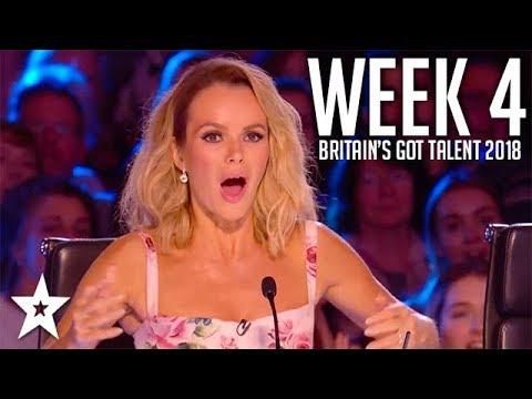 Britain's Got Talent 2018 | WEEK 4 | Auditions | Got Talent Global (видео)