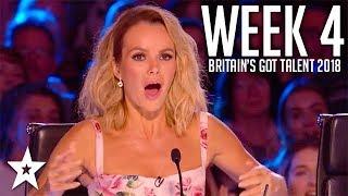 Video Britain's Got Talent 2018 | WEEK 4 | Auditions | Got Talent Global MP3, 3GP, MP4, WEBM, AVI, FLV Oktober 2018