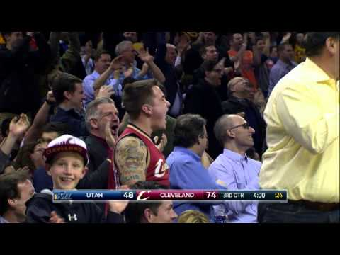 crowd - The Cavs had some fun in the 3rd quarter with these two plays; showing off their crazy athleticism and working together. About the NBA: The NBA is the premier professional basketball league...
