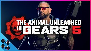 BATISTA UNLEASHED: Gears 5 Trailer Behind the Scenes!