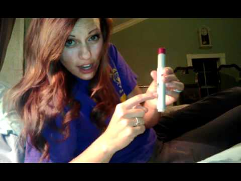 HUMIRA Pen Injection Tutorial : by Chelsea Manningham