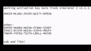 Euro Truck Simulator 2 Activation Key Codes