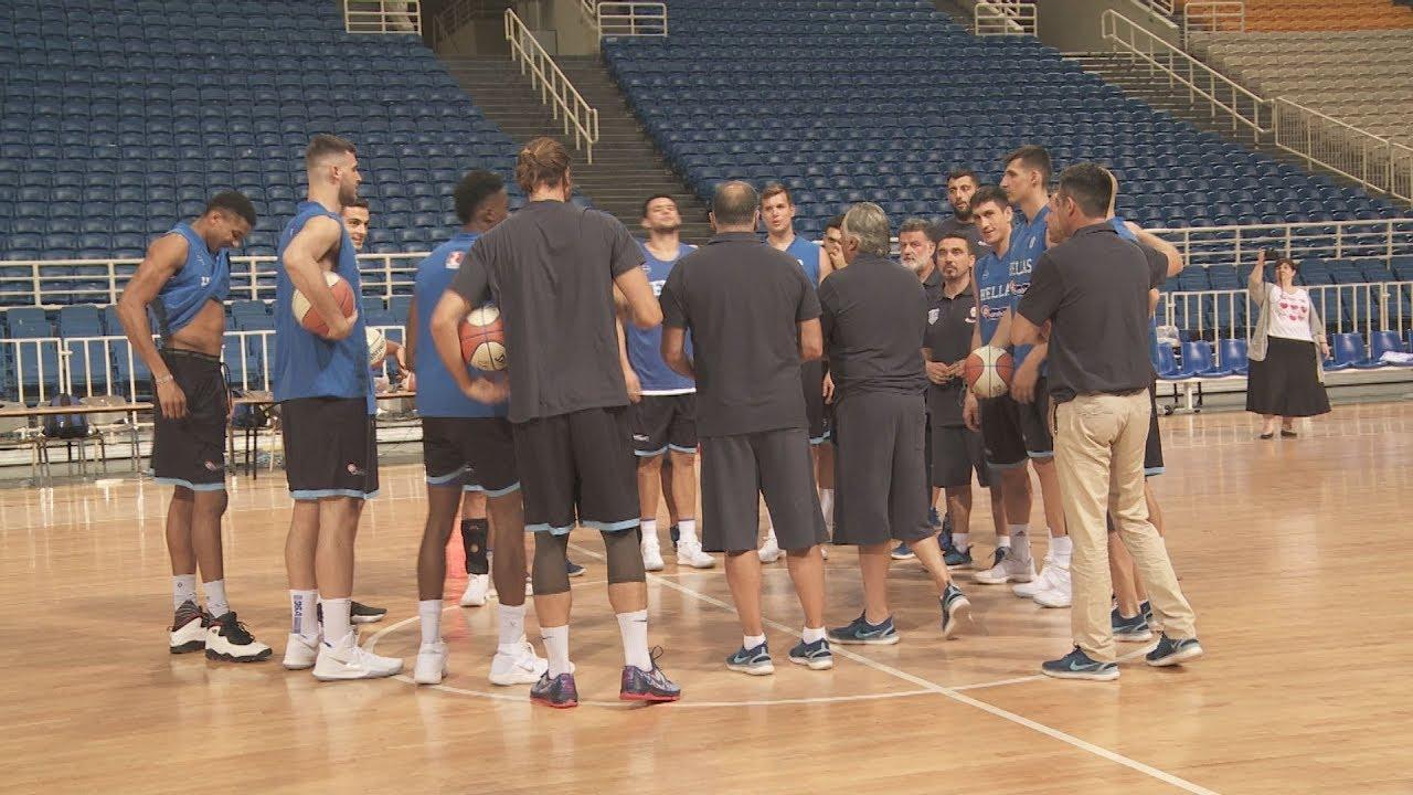 Media day της-Εθνικής ομάδας μπάσκετ των Ανδρών