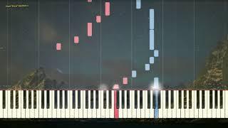 Вернуться обратно (Ноты и Видеоурок для фортепиано) (piano cover)