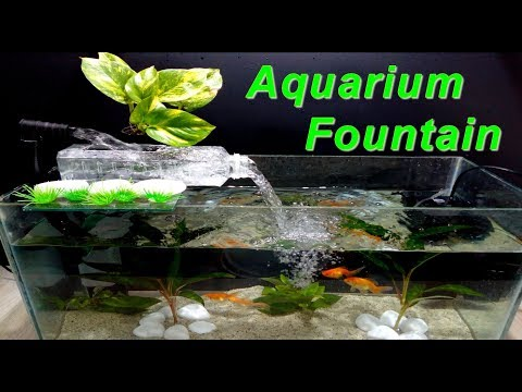 How to make Aquarium Fountain used a Plastic Bottle very easy / DIY_Aquarium. Best of the week