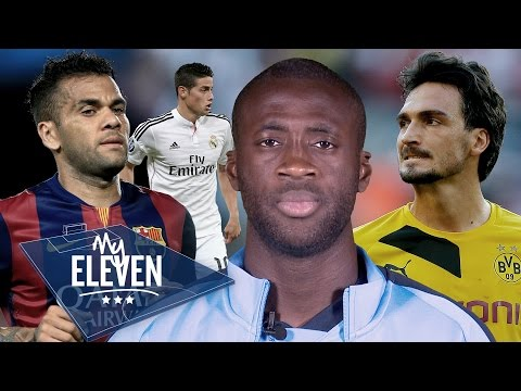 Yaya Toure Picks His Best XI | Hummels, Alves, Ronaldo & More!