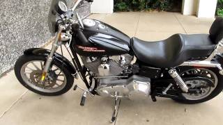 10. 2004 Harley Davidson Dyna Superglide Rinehart exhaust and more